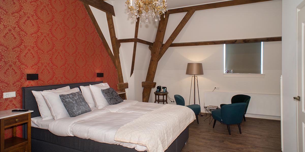Hotelkamer Blauwe Pauw Den Bosch