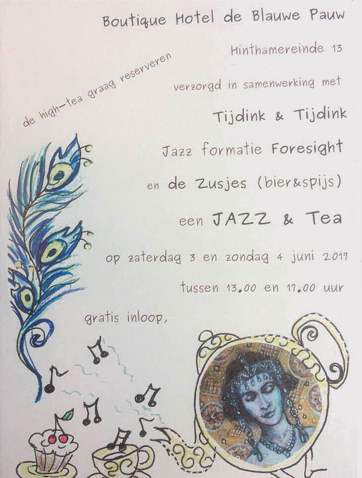 jazz-and-tea-hotel de blauwe pauw