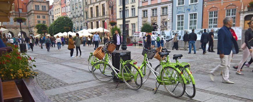 City rental bikes